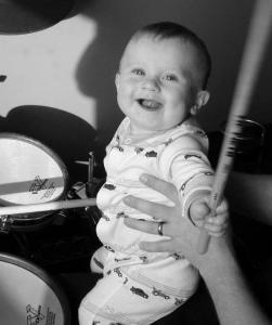 Baby CJ_Drumset