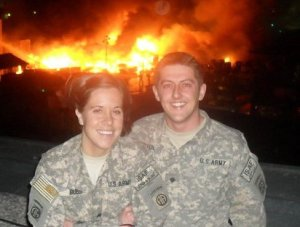 My future wife and I in Afghanistan circa 2010